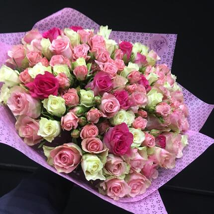 """101 роза """"Кения"""""""